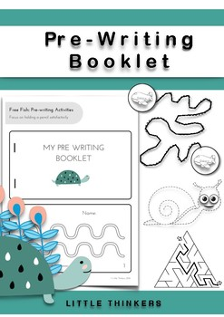 My Pre-Writing Booklet