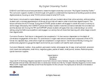My Digital Citizenship Toolkit - 3rd-6th Grade