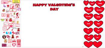 My Digital Valentine's Day Card - Digital for Google Classroom/Interactive Board