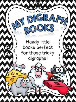 My Digraph Books - Little books for learning digraph phonics!