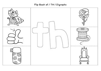My Digraph Flip Books - Interactive Notebook