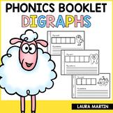 Interactive Phonics Booklet-Digraphs