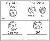 My Dime Coin Mini-Book Money Reader