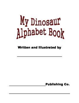 My Dinosaur Alphabet Book