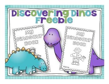 My Dinosaur Report-Discovering Dinosaurs Freebie.