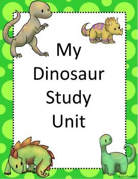 My Dinosaur Study Unit