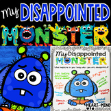 My Disappointed Monster, an identifying emotions activity.