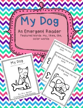 My Dog {An Emergent Reader}