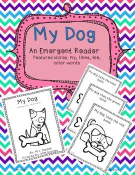 My Dog {An Emergent Reader}