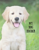 My Dog Binder--Nature Study