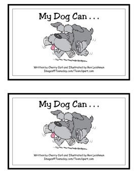 My Dog Can . . . Guided Reader (-og and -an Word Families)