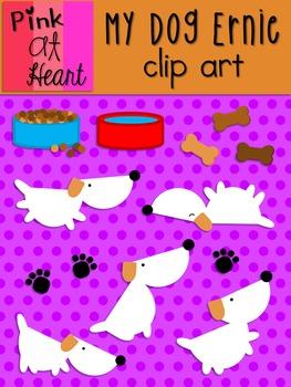 My Dog Ernie Clip Art