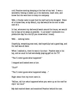 """""""My Dog... 'Peaches' """" [A Short Story]"""