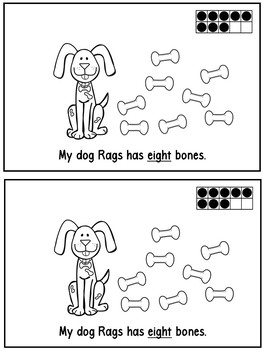 My Dog Rags -A Counting Book