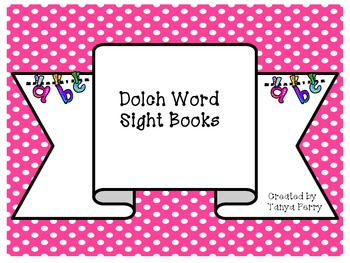 My Dolch Sight Word Book