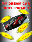 My Dream Car:  A Microsoft Excel Project