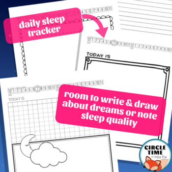 Dream Diary & Sleep Tracker, Dealing with Nightmares, Bad Dreams, Sleep Routine