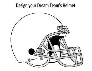 My Dream Football Team Graphic Organizers