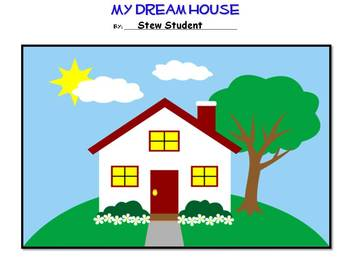 My Dream House- Area and Perimeter Activity