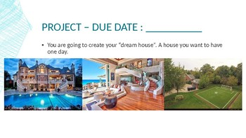 My Dream House Project Introduction