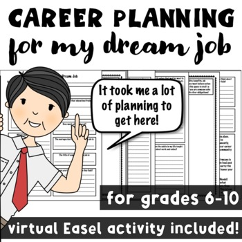 Career Planning for My Dream Job: A Career Exploration Lesson on Goal Setting