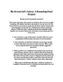My Dream Job's Salary: A Rounding Final Project