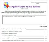My Dream Quinceañera: Planning Project