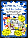 My ENTIRE 6th Grade Math Curriculum - Assessments, Noteboo