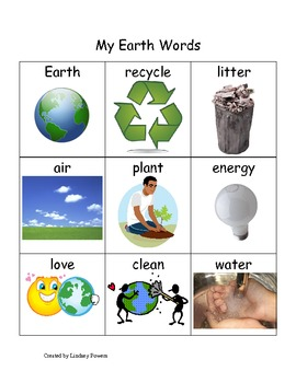 My Earth Day Words