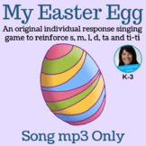 """Easter Call and Response Song   """"My Easter Egg"""" by Lisa Gillam   Song mp3"""