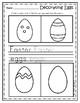 My Easter Mini Book - No Prep - Preschool worksheets