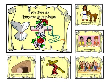 My Easter Story Book-en Francais-FSL and Immersion