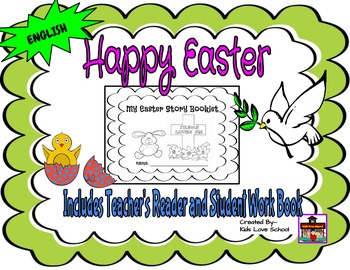 Easter-My Easter Story Booklet-ENGLISH Version