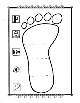 footprint worksheet answer key science footprint best free printable worksheets. Black Bedroom Furniture Sets. Home Design Ideas
