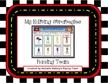 My Editing Strategies Racing Team (A Tiered Common Core Aligned Unit)