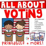 Voting Unit 1st/2nd Grade (TEKS & CCSS Aligned)