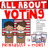 All About Voting (TEKS & CCSS Aligned)