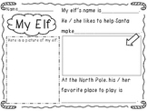 My Elf...a Christmas writing activity