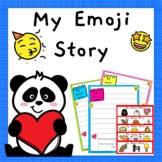 My Emoji Story - Creative Writing Activity
