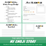 My Emoji Story-Writing Process Activity/Recording Sheets