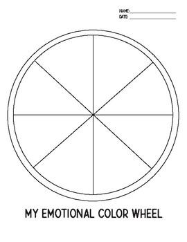 My Emotional Color Wheel