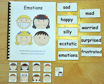 My Emotions Adapted Book