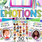 Identifying Feelings and Emotions workbook for Google Slid