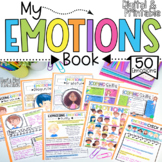 My Emotions Book for Google Classroom Distance Learning