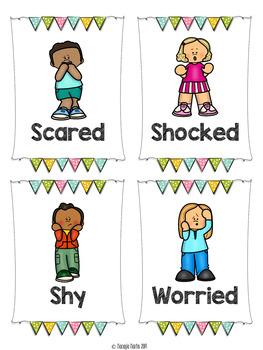 My Emotions Bundle- Emotions and Feelings