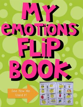 My Emotions Flip Book