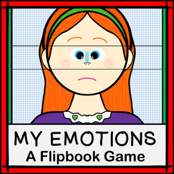 My Emotions Flipbook Game: Facial Awareness for Young Children and Autism