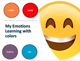 My Emotions || Learning With Colors