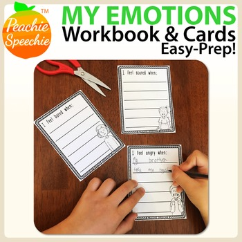 My Emotions Workbook and Poem Cards