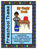 My Empty Desk - L1 Gold Theme Unit - Preschool {PbN} Early